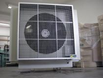 Climatizador e umidificador de ar industrial